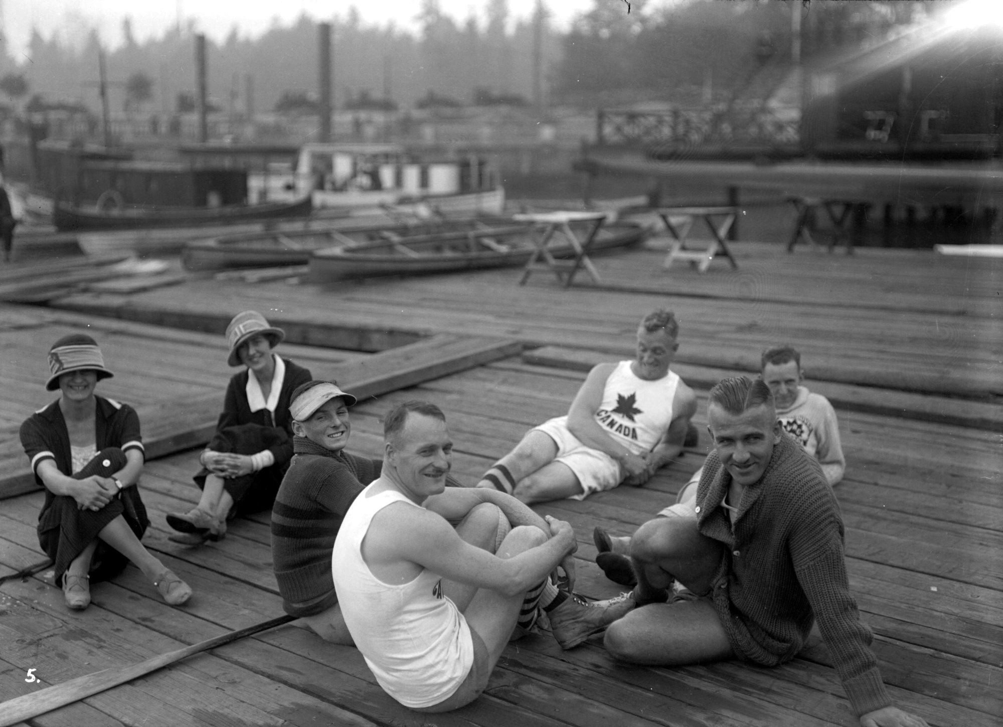 1924-relaxing-on-dock